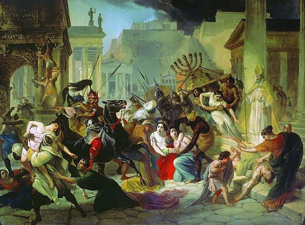 The Sacking of Rome, 410 A.D.