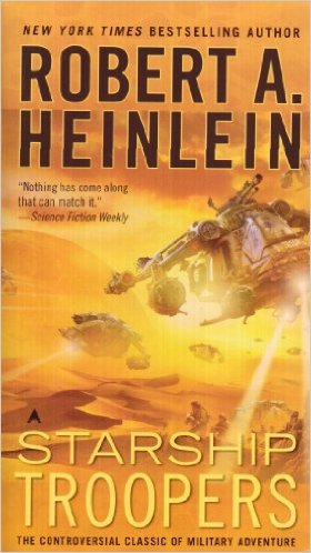 Starship Troopers by Robert A Heinlein featured on Manning the Wall