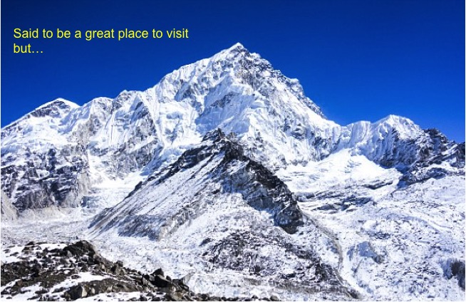 Everest a great place to visit @manningthewall.com