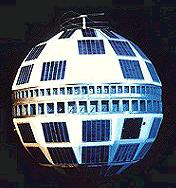 Telestar Satellite In Space@manningthewall.com