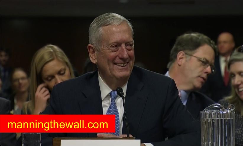General Mattis @manningthewall.com