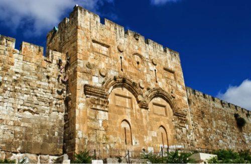 golden gate Jerusalem | @manningthewall.com