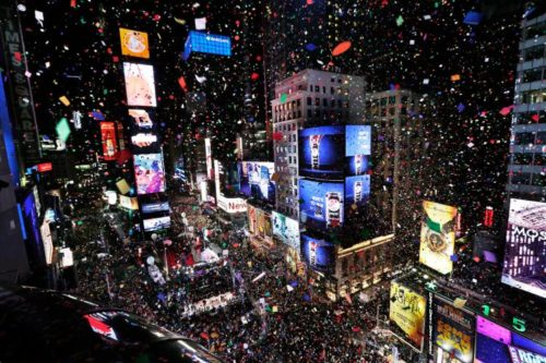 Humankind continues it's most ancient celebration. In a tradition that goes back at least 8,000 years, people gather to mark the passage of time. The assembly in Times Square NY may be the most populous gathering, but it represents a mere fraction of the enormous planet-wide festival.